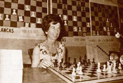 María Luisa Gutiérrez Blanco, campeona del IX Campeonato de España Femenino 1965