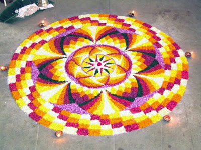 Onam Athapookalam Images