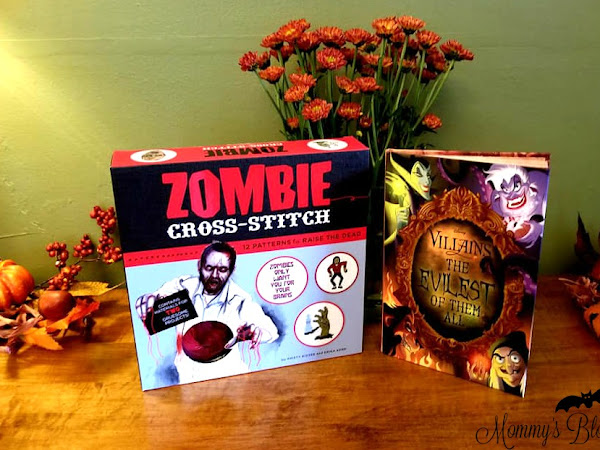 Spooky Gift Ideas to Get the Family in the Halloween Spirit + Disney Villains & Zombie Cross Stitch Giveaway #MBPHalloween18