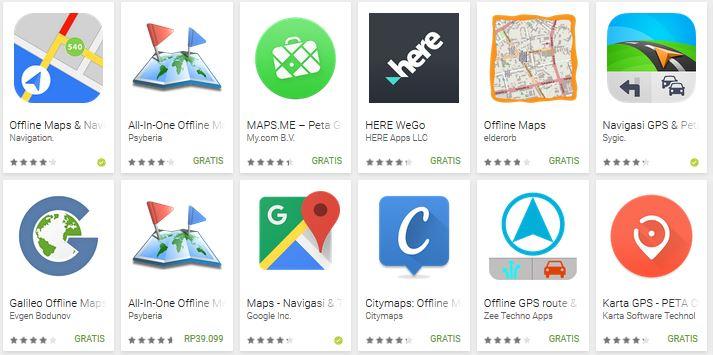 5 Aplikasi GPS Terbaik di Android Tanpa Internet (Offline)