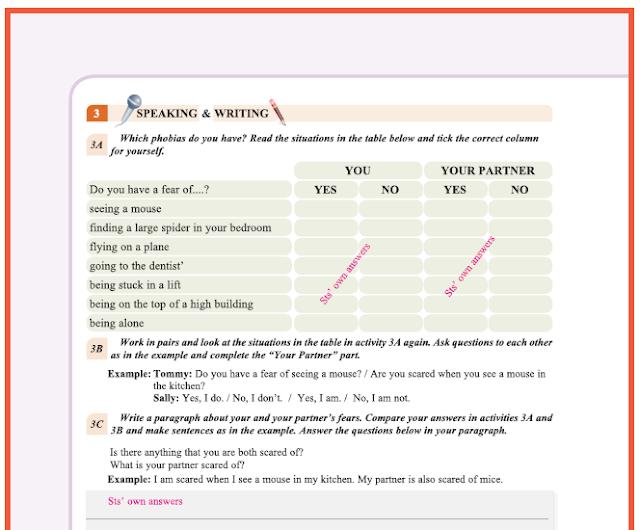 9. Sınıf Yıldırım Yayınları İngilizce A1.2 Ders Kitabı 34. Sayfa Cevapları Theme 2 Personality and Character
