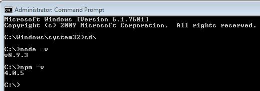 Angular-5-environment-setup