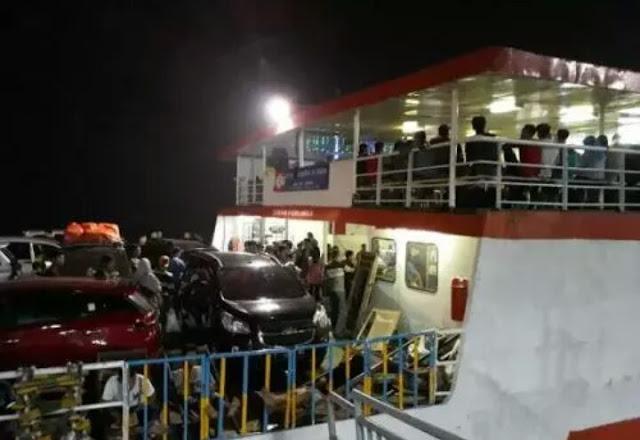 Siauasi arus mudik di Pelabuhan Merak