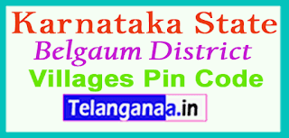 Belgaum District Pin Codes in Karnataka State