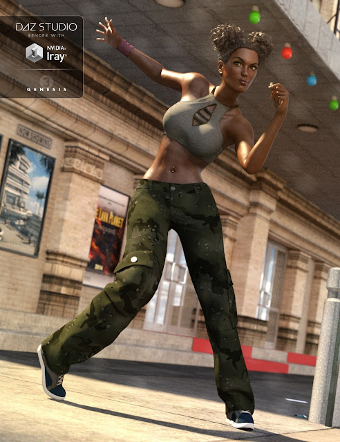 Hip Hop Outfit Genesis 3 Female