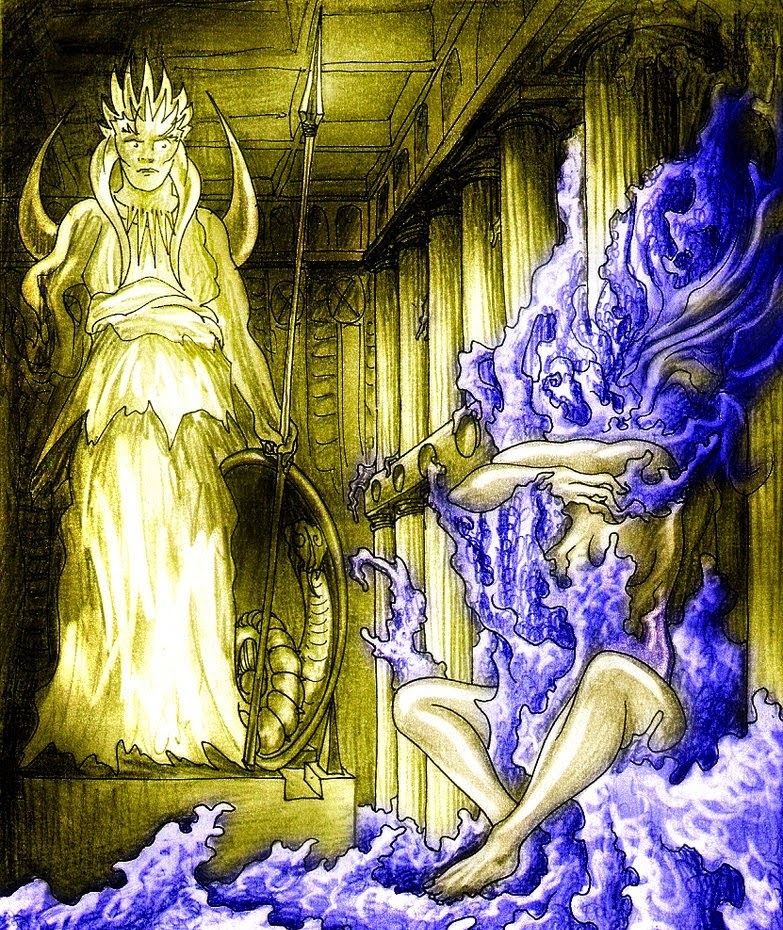 poseidon and medusa relationship questions