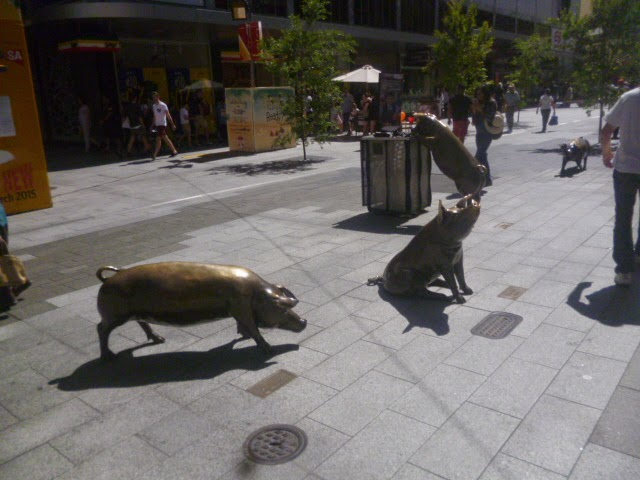 The Malls Pigs