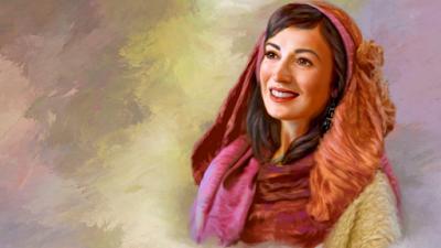 Pintura artística de Sarai (Sara)