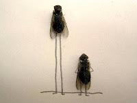 WOW : Ditangan orang kreatif lalat yang mati pun bisa jadi objek Seni, Lihat Deh