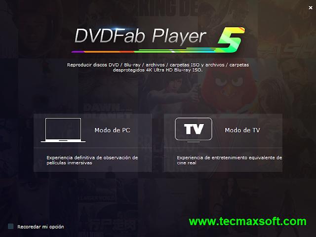 DVDFab Player 5 Ultra Full Gratis captura 1