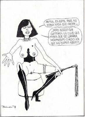 BDSM sadomasoquismo antologia vintage 1978 luis vigil chiste romeu