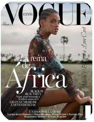 Portada y regalo de la revista Vogue Marzo 2016