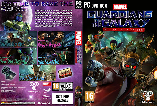 Capa Guardians Of The Galaxy The Telltale Series PC
