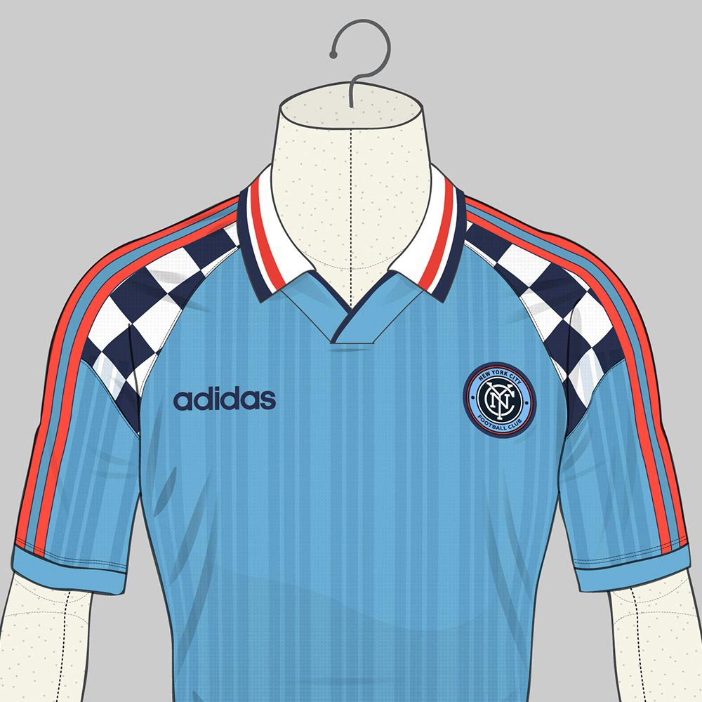 64ca1424b The NYCFC 1996 concept home kit features a sky blue base