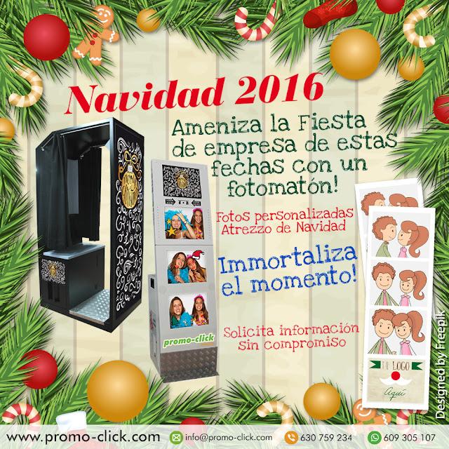 Fotomatón para la fiesta de Navidad  2016