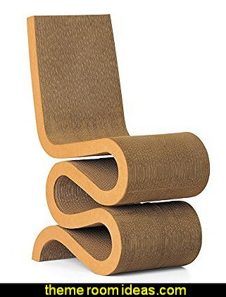 Vitra Wiggle Side Chair - Natural