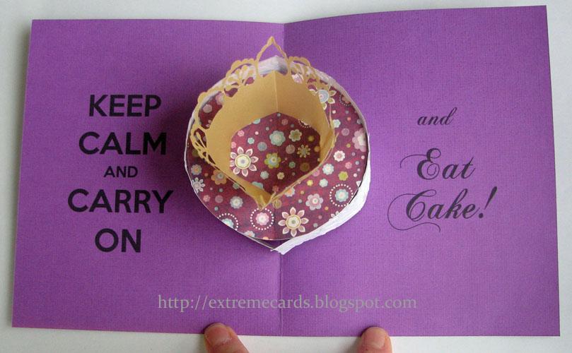 Pop Up Birthday Cake Card