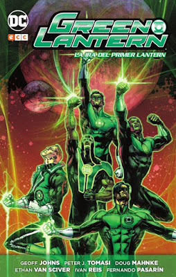 """Reseña de """"Green Lantern: La Ira del Primer Lantern"""" de Geoff Johns - ECC Ediciones"""