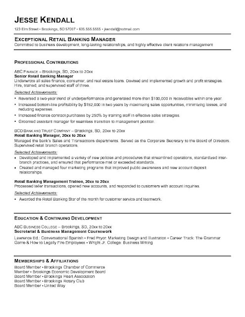 best chosen resume format
