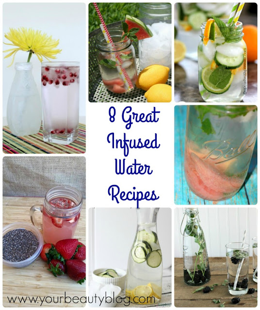 8 Great Infused Water Recipes