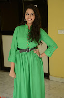 Geethanjali in Green Dress at Mixture Potlam Movie Pressmeet March 2017 060.JPG