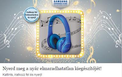 Samsung Nyeremenyjatek