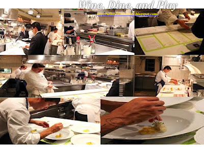 The kitchen at the French Laundry and all the hard work the cooks do