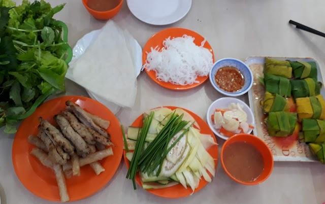 Lên Buôn ăn nem Ninh Hòa (Nha Trang) ở quán Thanh Hùng