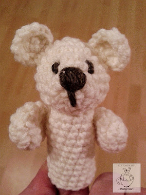 Finger toys bear - Ofuniowo