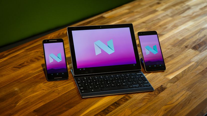 android nougat devices