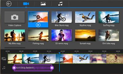 aplikasi pembuat foto jadi video terbaik powerdirector