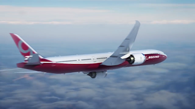 The New Boing B777X