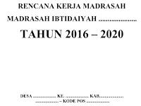 Contoh RKM dan RKT SD/MI Terbaru 2016/2017 doc