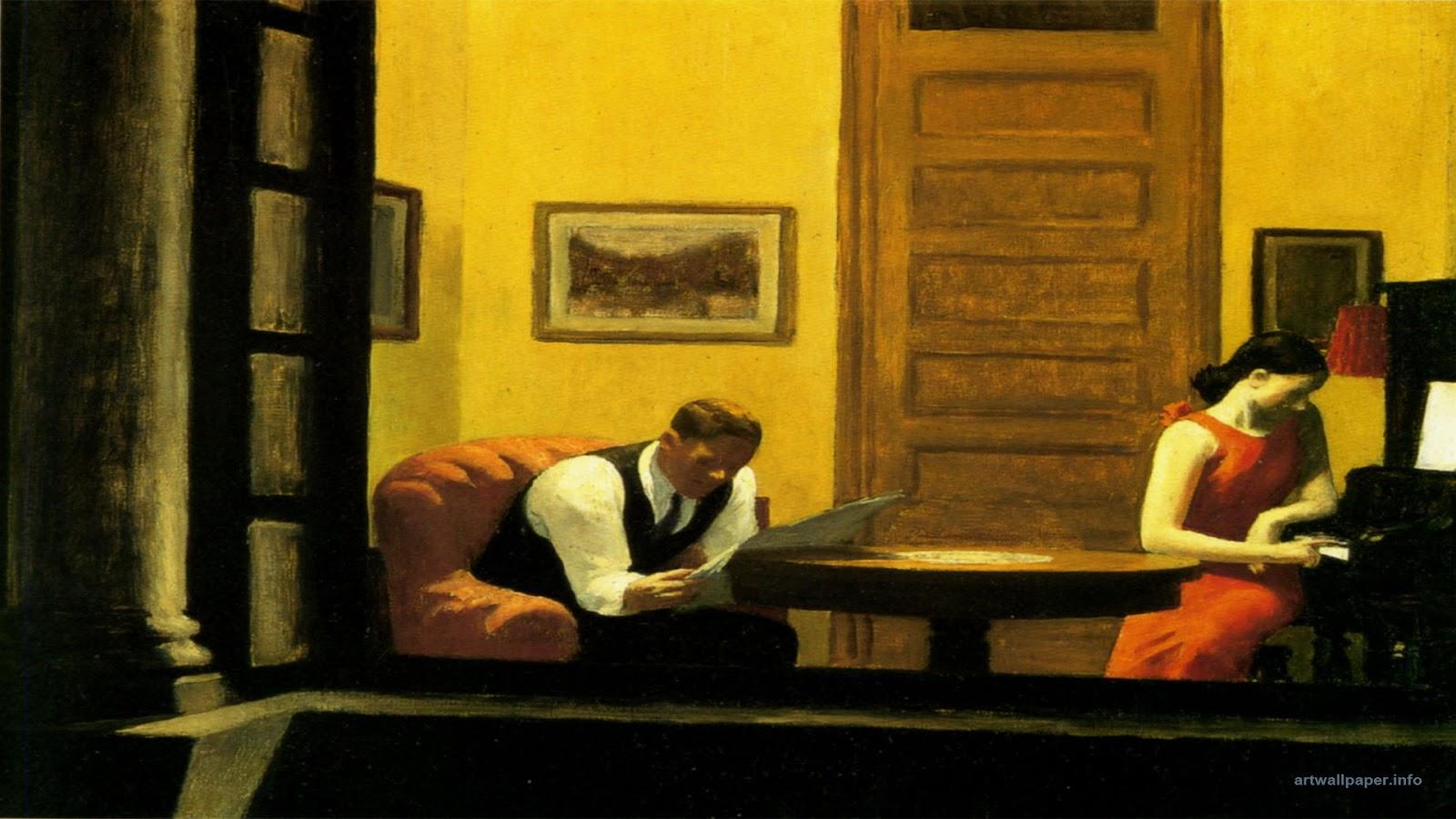 Hopper Room In New York