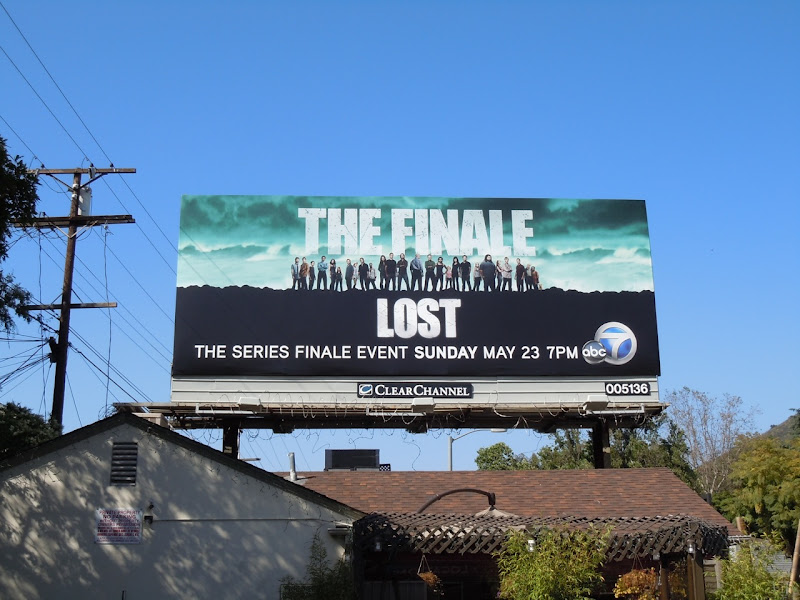 LOST series finale billboard