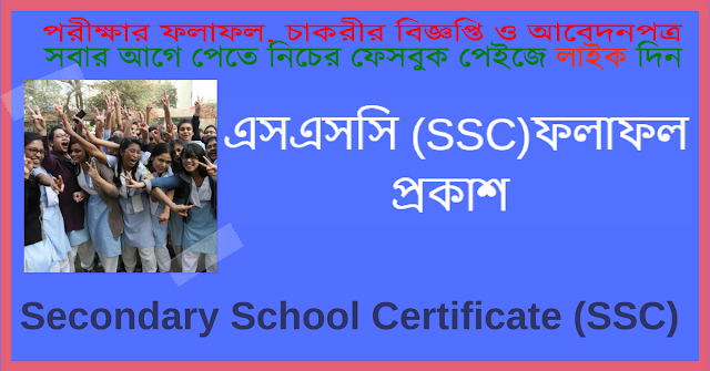 Secondary School Certificate SSC Result: Secondary School Certificate SSC Result 2018