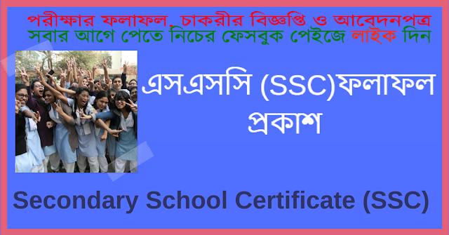 Secondary School Certificate SSC Result: Secondary School Certificate SSC Result 2018 1