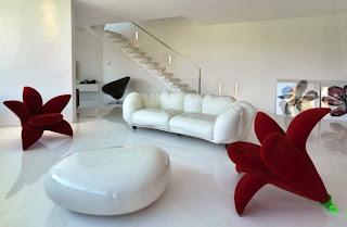 diseño de espacios muy creativos sala de estar