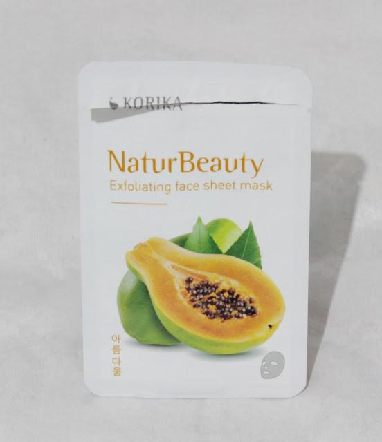 NaturBeauty Exfoliante de papaya