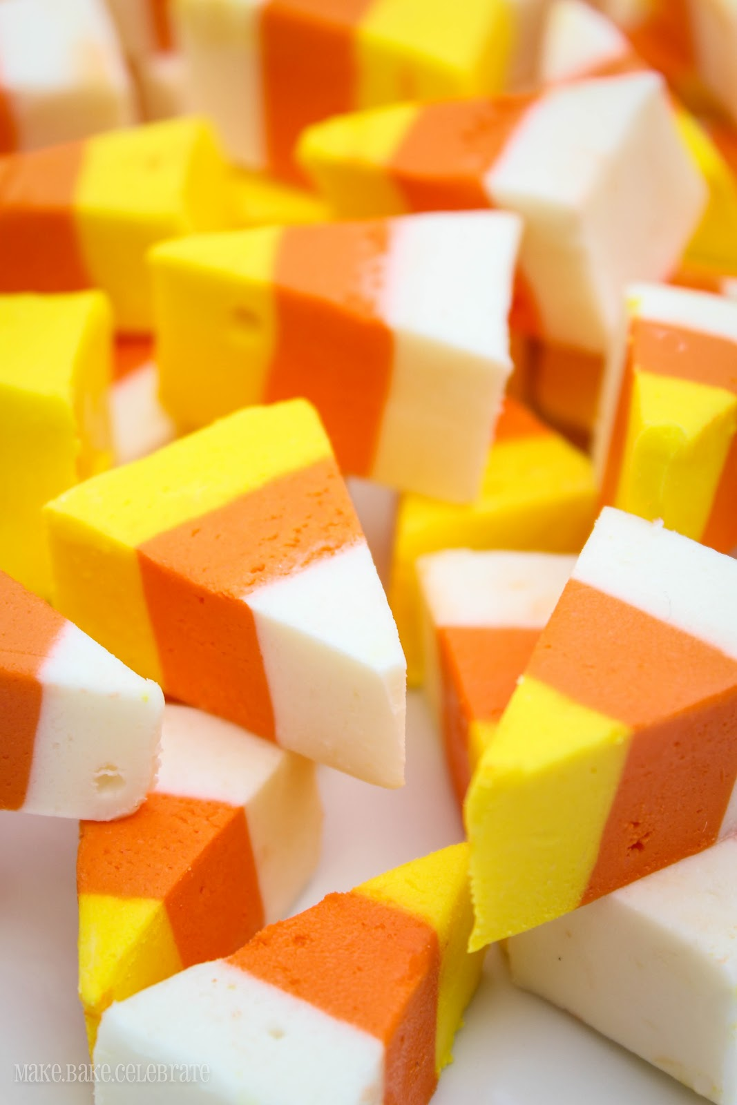 Candy K Whatlucyloves: MBC: {Candy Corn Week} Candy Corn Fudge