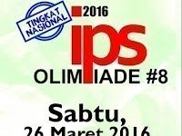 Olimpiade IPS Pelajar SMP Tingkat Nasional 2016 FIS Unnes