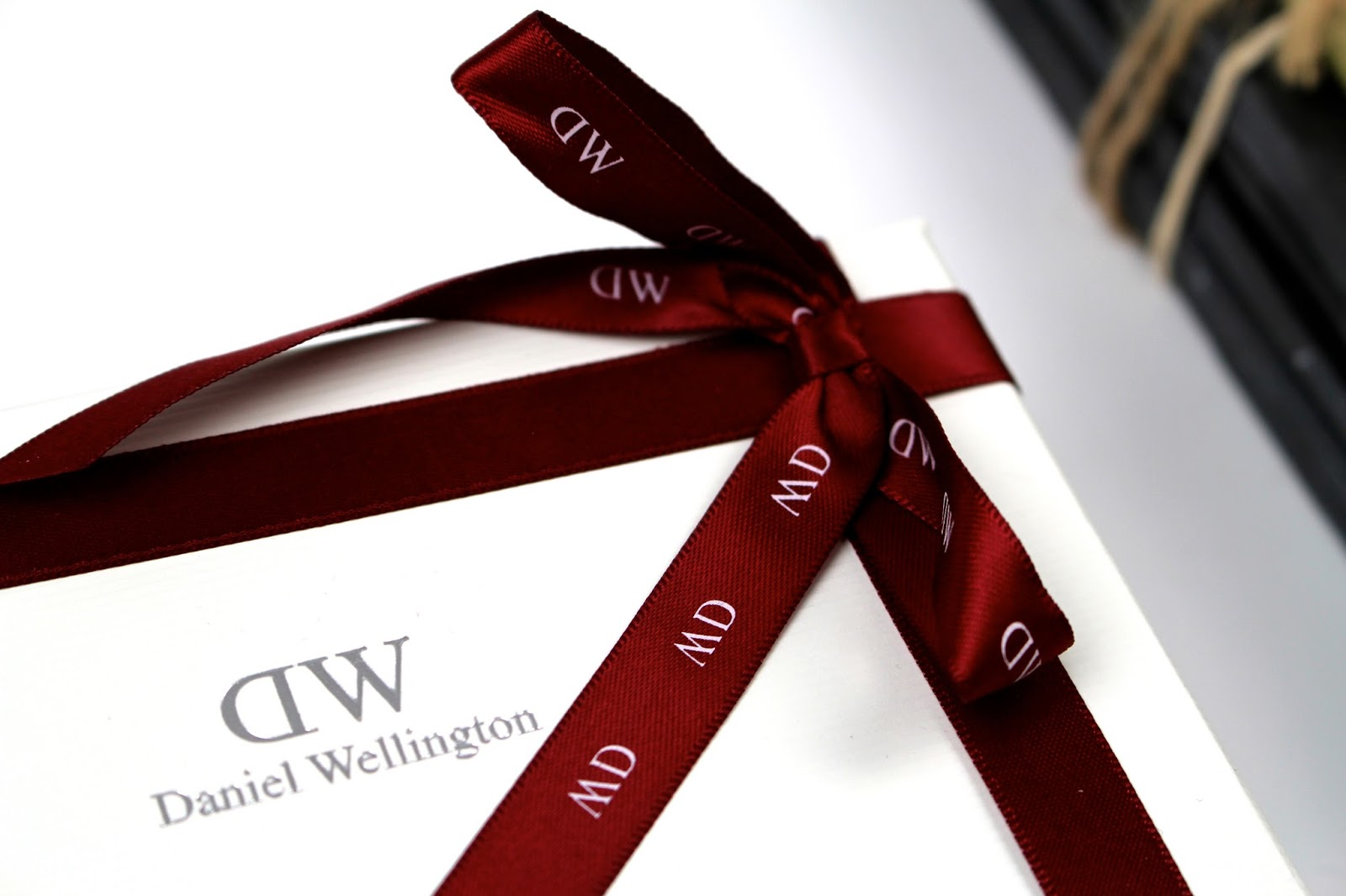 Daniel Wellington giftwrapping service