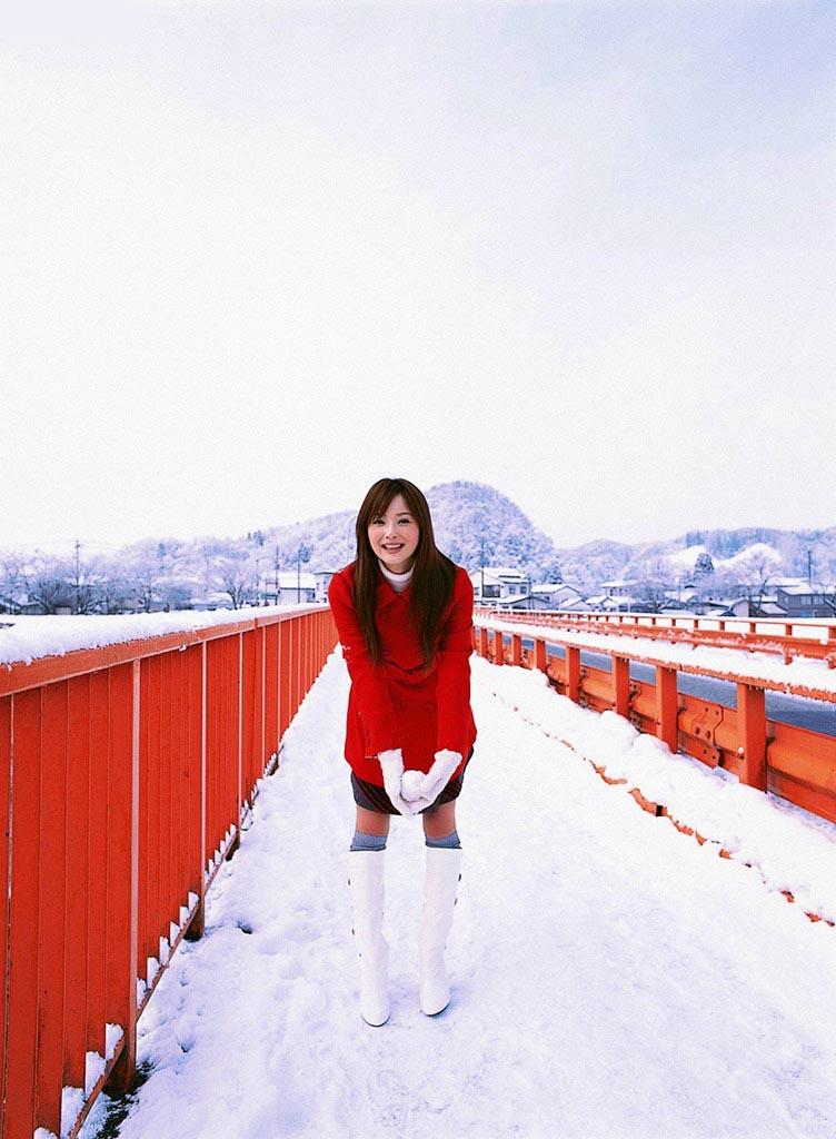 nozomi sasaki white snow 05