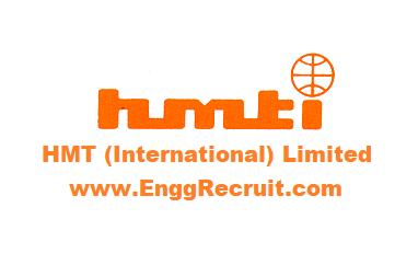 HMT (International) Limited Recruitment