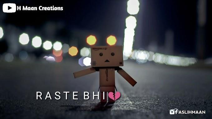 StatusMobi.com   Manzile Bichhad Gyi   New Sad Boy Whatsapp Status   Sad Status Video   H Maan Creations