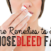 How To Stop Nose Bleed Fast At Home!