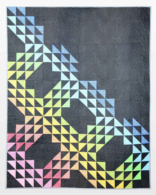 Check It Out Quilt Free Pattern designed by Accuquilt