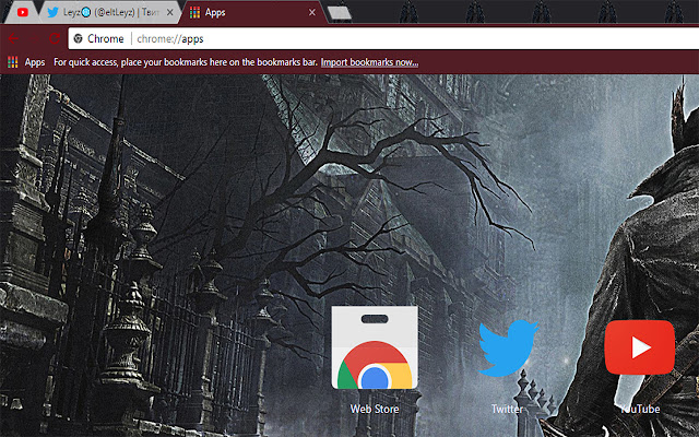 Bloodborne Video Game Free Theme FOR Chrome 2017