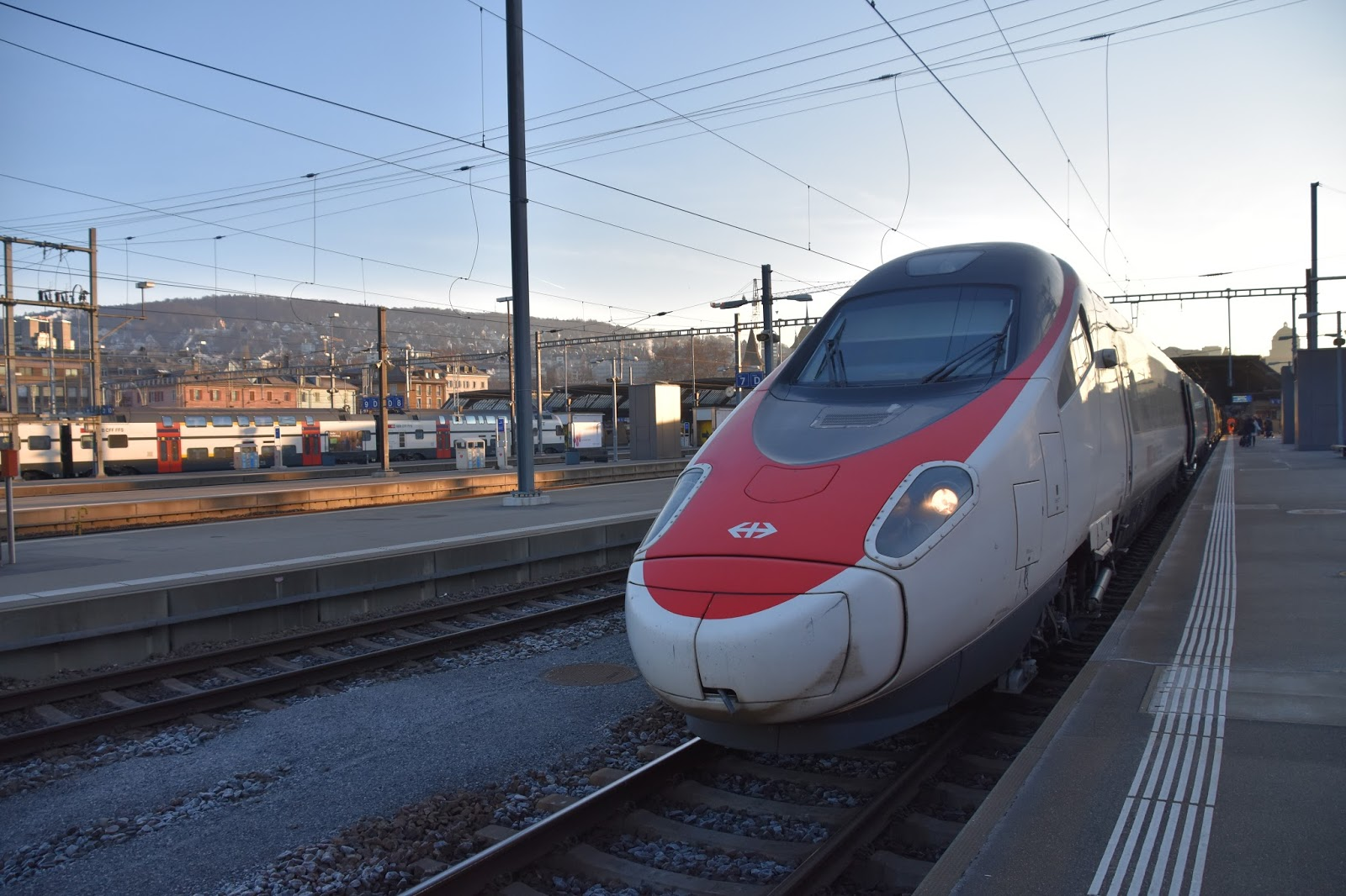 Trains and other things: Zurich to Rome