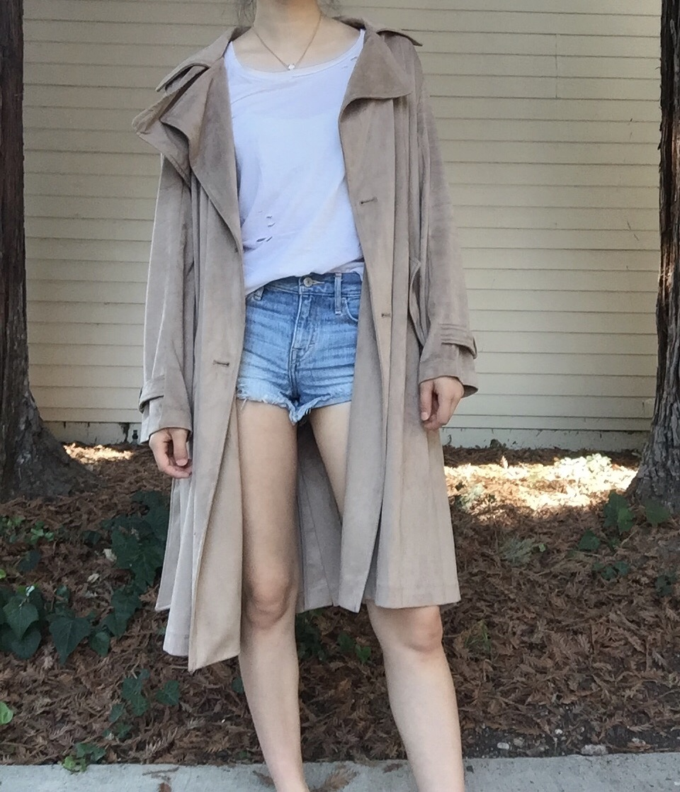EASY WAY TO STYLE TRENCH COATS | aesteblanc.blogspot.com